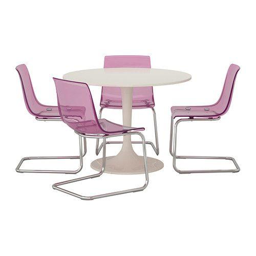 Wannnnnnt soo bad .. its soo groovy  DOCKSTA/TOBIAS Table and 4 chairs   - IKEA