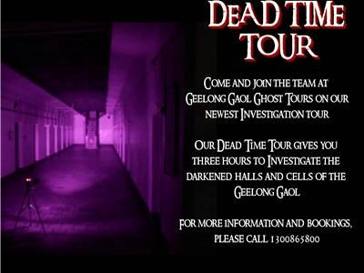 Geelong Gaol Dead Time Investigations -