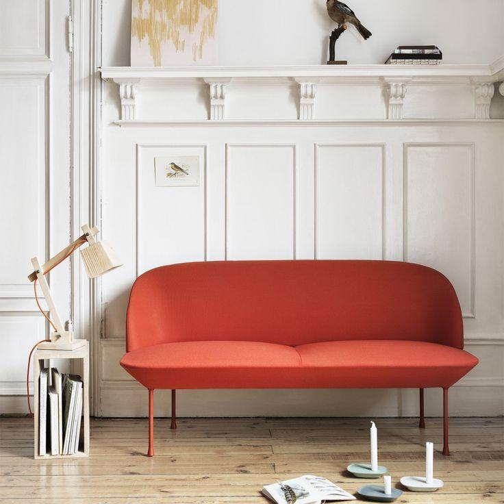 Muuto Oslo two Seater Sofa - двухместный и трехместный дизайнерский диван. Датский дизайн. Скандинавский стиль. Оригинальный дизайн. Заказа можно на wooddi.com.