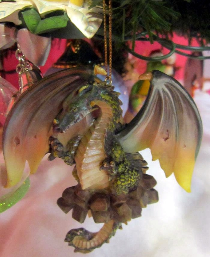 17 Best Images About Christmas Ornaments: Dragons On