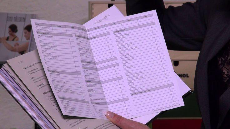 Guidevideo nr. 1 - gennemgang af materialet i bogpakken Sense - slank me...
