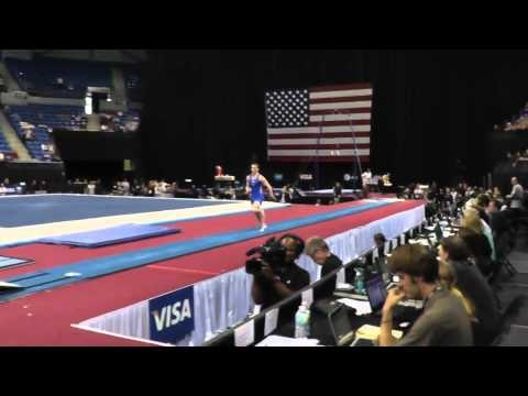 Steven Legendre - Vault - 2012 Visa Championships - Sr. Men - Day 1