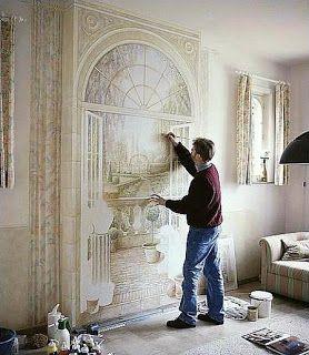 ...: Pintura de paredes 3D