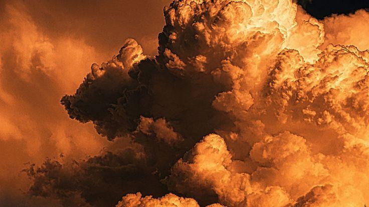夕焼け雲の