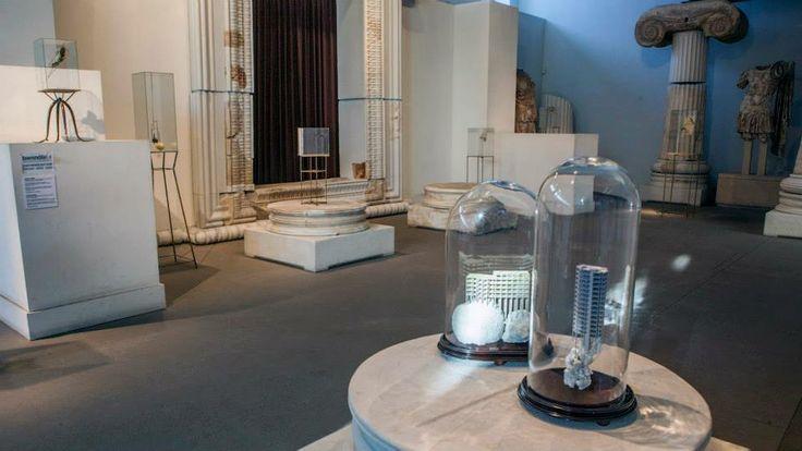 """Κεντρική Έκθεση """"Παντού αλλά Τώρα""""  David Casini /  1,2,3 Momento in cui tutto questo ha uno spazio, 2013  Αρχαιολογικό Μουσείο Θεσσαλονίκης"""