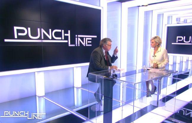 Les échanges entre Gilbert Collard et Laurence Ferrari très gênants dans «Punchline»