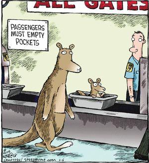 Aussie Air.......Speed Bump Comic Strip on GoComics.com