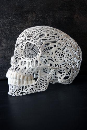 Carved Skull by Josh Harker