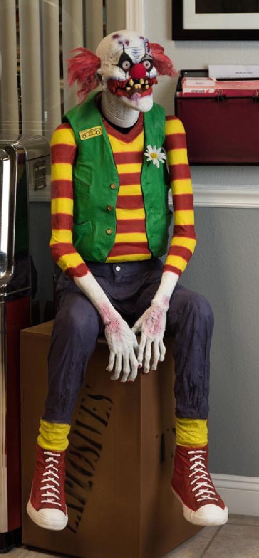 Zombie Clown Statue