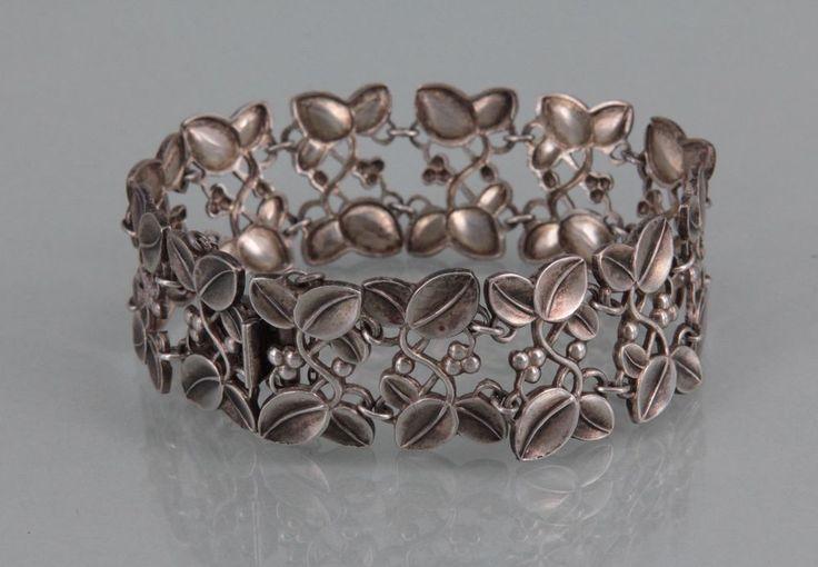 WMF IKORA Jugendstil Armband, 835 Silber (S 1863)