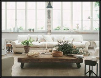 White & Wood - Furniture & Decor in a Pure Palette