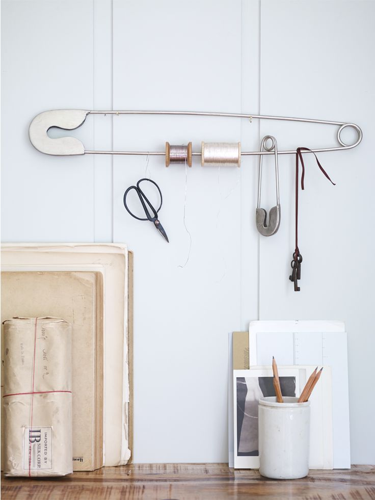 Two Safety Pins - Home Office - Indoor Living