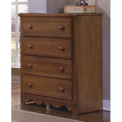 Carolina Furniture Works, Inc. Crossroads 4 Drawer Chest
