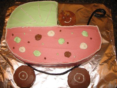 Mennonite Girls Can Cook: Baby Carriage Cake