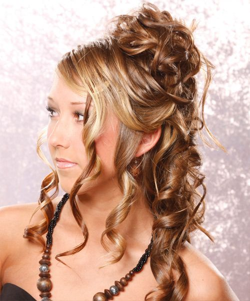 haircuts for with thick hair special occasion hairstyles half up formal half up 5606