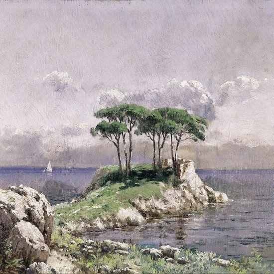 HOCA ALI RIZA .... 1958 - 3/20/1930 ... Turkish Impressionist ... () landscape