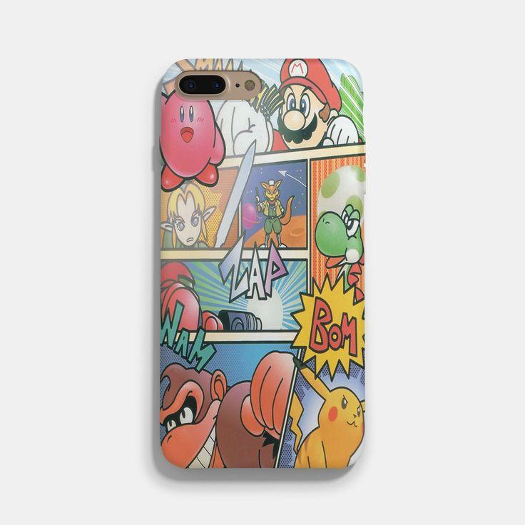 Super Smash Bros 64 iPhone 7 / 7 Plus Case #iphonecase #iphone6case #phonecases