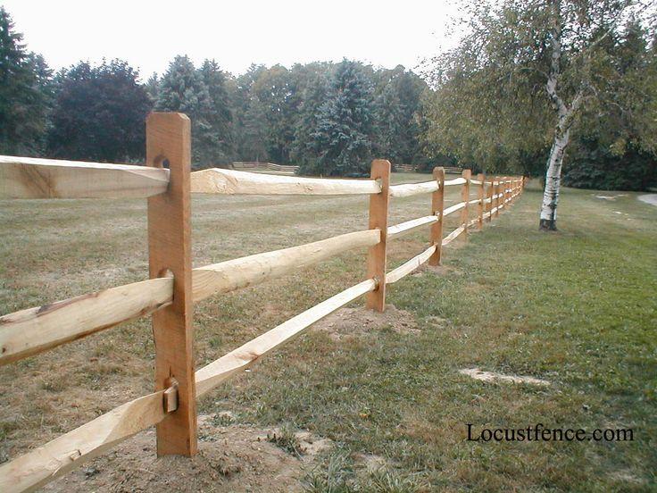 split rail fence prices
