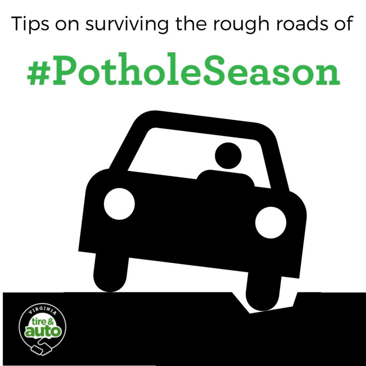 How to survive the rough roads this spring. http://ow.ly/KZcqe  #PotholeSeason #NoVA #AllYourCarNeeds #VAtire