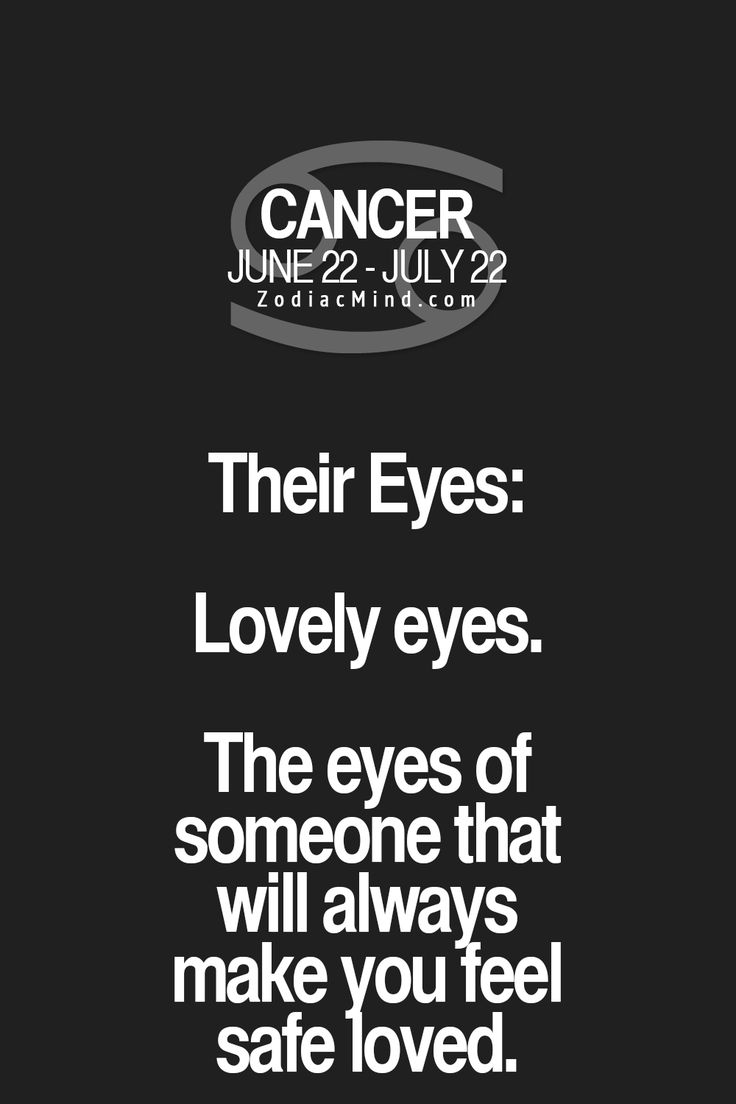 Cancer Zodiac Sign♋~ Their Eyes: Lovely Eyes.