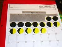 Moon Observation Calendar