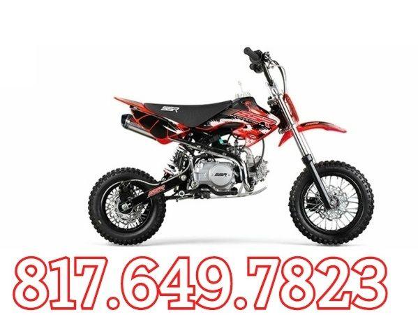 Ssr Sr110dx Pro Pit Bike Free Shipping Sale Price 799 00 Pit Bike Bike Dirt Bikes For Sale