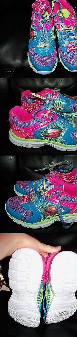 Children girls clothing shoes and accessories: Skechers Magnetics Lace Up Sneakers Kids Athletic Girls Shoes Size 4.5 New BUY IT NOW ONLY: $44.99 #ustylefashionChildrengirlsclothingshoesandaccessories OR #ustylefashion