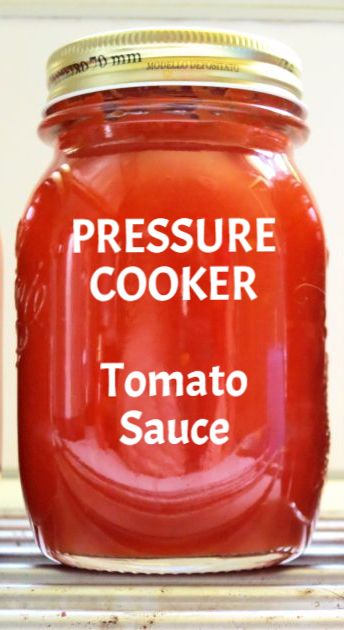 Large Batch PRESSURE COOKER Italian Tomato Sauce - pressure cook 6 pounds at once