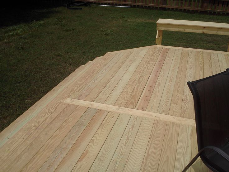 Instead Of Having Unsightly Alternating Seams For Decks