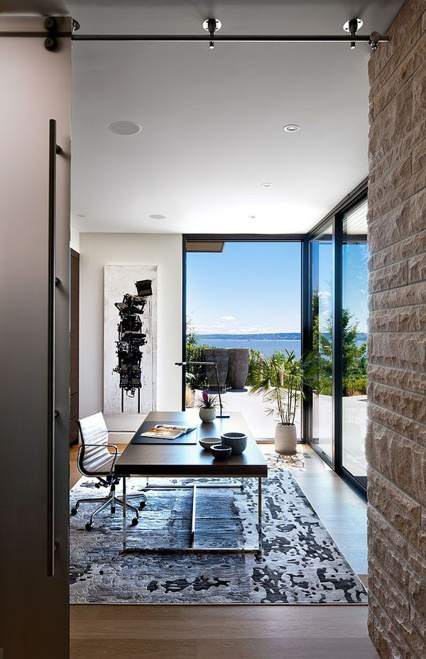 West Vancouver Residence with spectacular ocean views by Claudia Leccacorvi of Raven Inside Interior Design