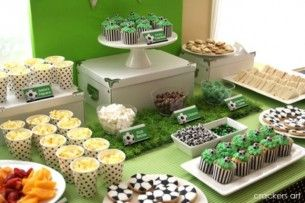Festa di compleanno calcio sweet table – Blog Family