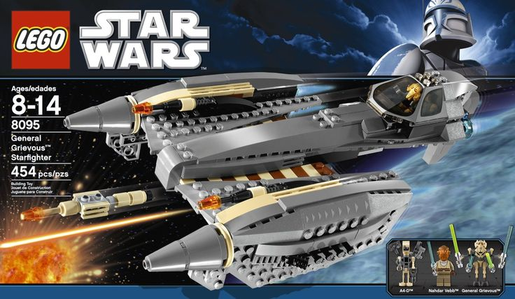 Star Wars Lego 8095 General Grievous' Starfighter