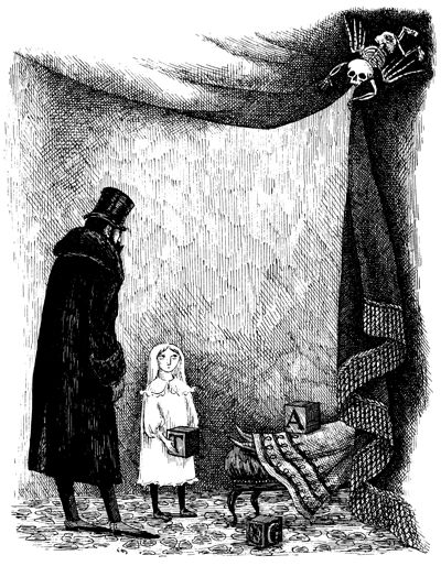 edward gorey | Di seguito qualche illustrazione dell'artista Edward Gorey.