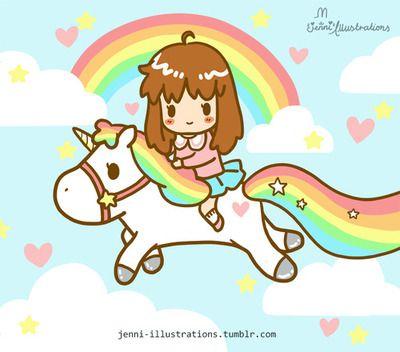 Cute Kawaii Pastel Rainbow Unicorn Squishy Toy on Storenvy