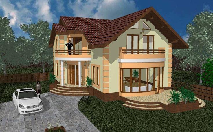 Casa Milito  Casa de categorie medie, parter si mansarda potrivita pentru un teren plat sau putin inclinat , recomandata pentru o familie ...