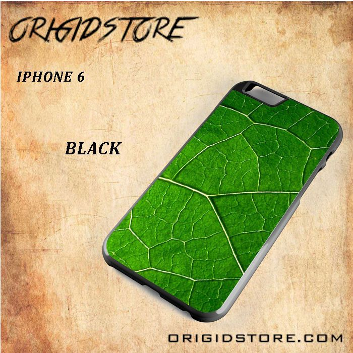 Green Leaf Fresh Nature Black White Snap On Or 3D For Iphone 6