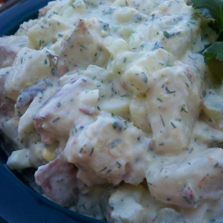 Zesty Redskin Potato Salad Recipe