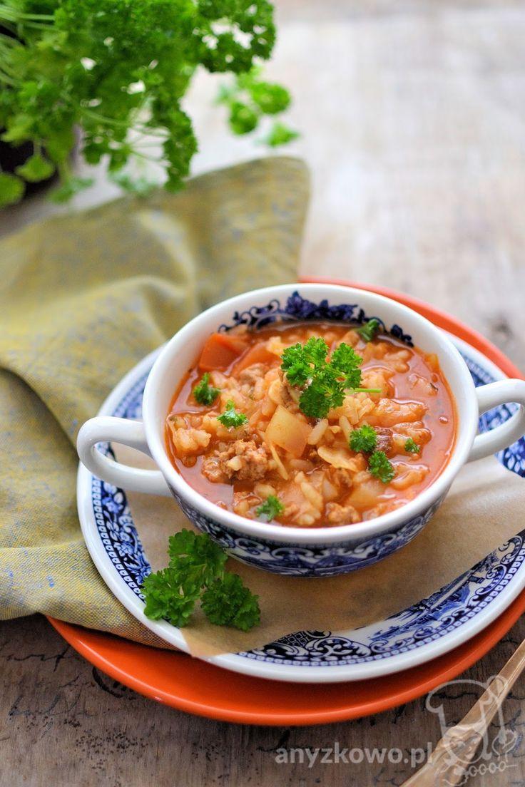 Anyżkowo: Zupa gołąbkowa