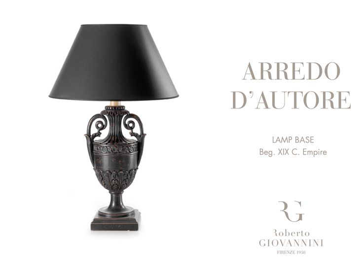 The perfect lamp for adding elegance to your home #robertogiovannini