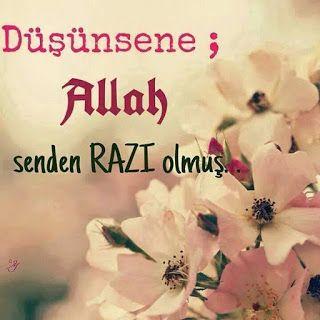 Şiirler Güzel sözler: Allah Razi olmus