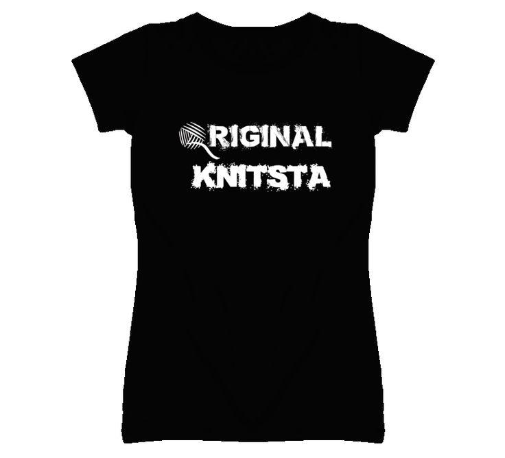 Original Knitsta Knitting Tshirt