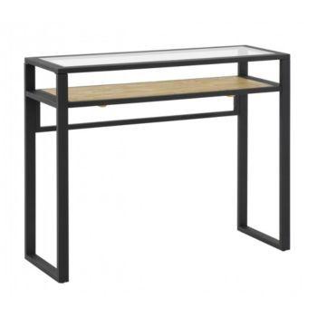 Best 25 console verre ideas on pinterest console for Table verre noir extensible