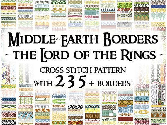 Hey, I found this really awesome Etsy listing at https://www.etsy.com/listing/180978590/cross-stitch-pattern-middle-earth
