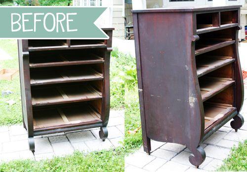 DIY Refinished Dresser Tutorial