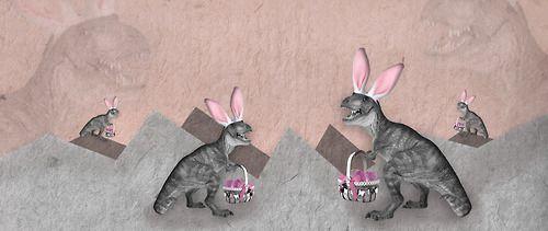 Easter Dino, EM Miljeteig