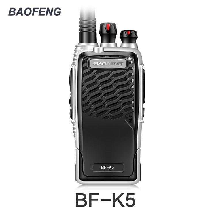 On sale US $23.70  New Baofeng BF-K5 Professional Walkie Talkie 5W Portable Two Way Radio UHF 400-470MHz Pofung BFK5 Push To Talk FM Transceiver  #Baofeng #BF-K- #Professional #Walkie #Talkie #Portable #Radio #----MHz #Pofung #BFK- #Push #Talk #Transceiver