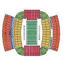 Auburn Football vs. Ole Miss Lower Level Section 33 Row 17 aisle seats
