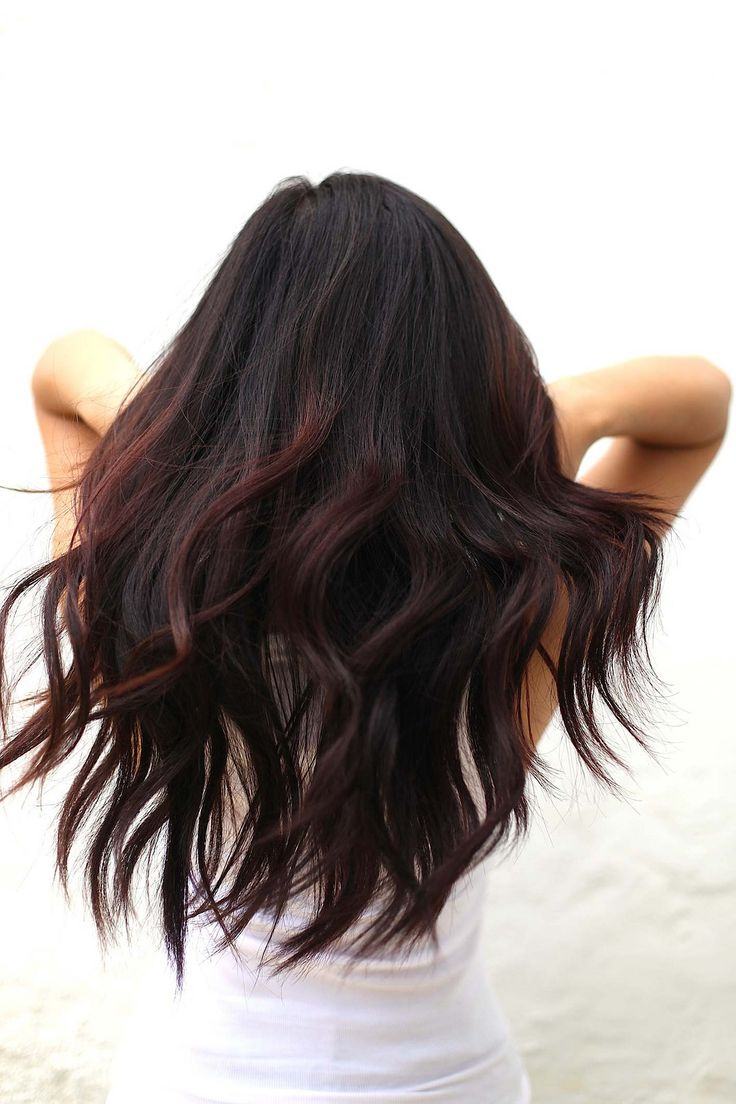 loreal-black-cherry-hair-result-on-dark-hair                                                                                                                                                                                 More