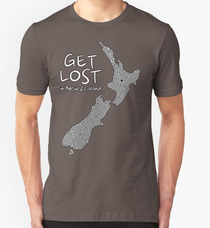 Get Lost in New Zealand by clrgraphics