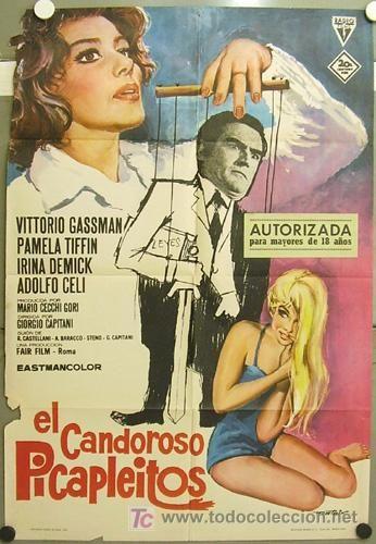 GV43 EL CANDOROSO PICAPLEITOS VITTORIO GASSMAN PAMELA TIFFIN POSTER ...